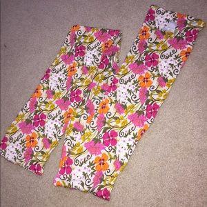 EUC Vera Bradley scarf: Tea Garden Pattern